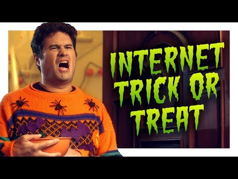 The Internet Goes Trick or Treating