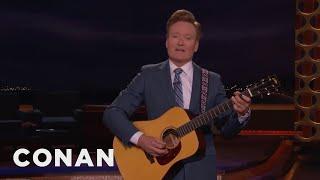 Conan Sings A Lullaby About North Korea  - CONAN on TBS