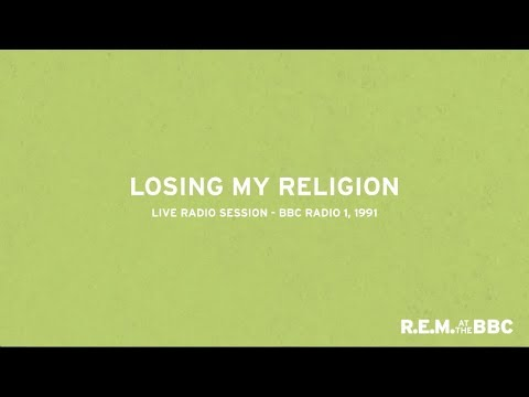 R.E.M. Losing My Religion Live from Into The Night on BBC Radio 1 1991