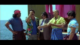 Thuruppu Gulan Malayalam Movie | Mlayalam Movie | Mammooty in Boat