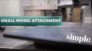 Tool Time Tuesday -2X72 horizontal belt grinder and the small wheels