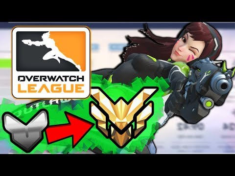 How PROS Use DVA In Overwatch League - Overwatch Season 8 Competitive D.va Guide / Tips /  Rank Up