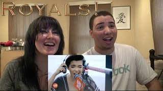 MOM AND SON'S REACTION TO! KZ Tandingan Royals (Lorde) on Wish 107.5 Bus