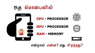 What is Processor? GPU? RAM? Explained in Tamil/தமிழ் by Giridhar