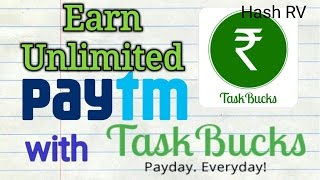 #2 TaskBucks app to Make Unlimited Paytm Money | TaskBucks Tricks | Earn Unlimited Money