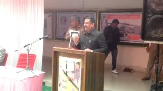 Speech on Road Safety during Road Safety Week at Ajmer by D