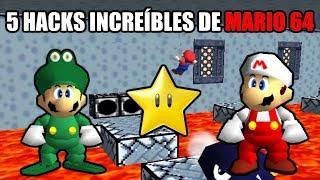 5 Hacks Increíbles de Super Mario 64