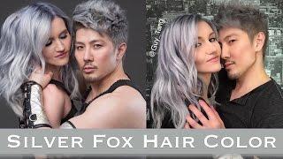 Silver Fox Hair Color