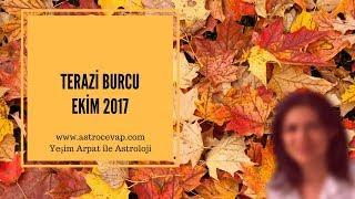 TERAZİ Burcu Ekim 2017 Astroloji