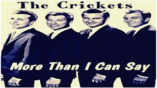 The Crickets - More Than I Can Say