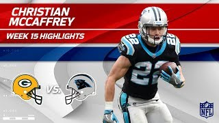 Christian McCaffrey Highlights   Packers vs. Panthers   Wk 15 Player Highlights