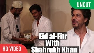 UNCUT - Eid al-Fitr With Shahrukh Khan | SRK EID Celebration Full Video | EID Press Conference 2017