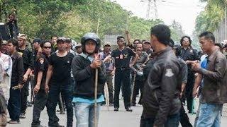 Ormas Menyerang Buruh, Belasan Terluka di Kawasan Indutri Cikarang Bekasi