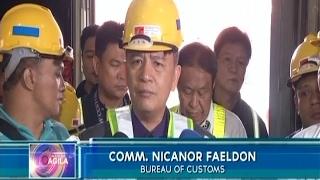 P15 milyong sibuyas, nasabat sa ng customs; Kampanya vs arms smuggling, paiigtingin