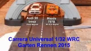Slotcar Carrera Universal Garten Rennen 2015