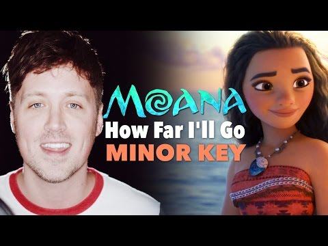 Xxx Mp4 MOANA How Far I Ll Go MINOR KEY VERSION 3gp Sex