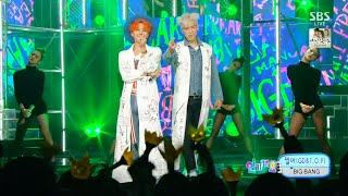 BIGBANG(GD&T.O.P) - '쩔어(ZUTTER)' 0823 SBS Inkigayo : 'LET'S NOT FALL IN LOVE' NO.1 OF THE WEEK