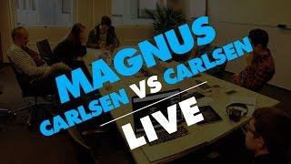 Magnus Carlsen vs. Play Magnus Age 11& 12 - Live Stream from MobCrush 11/11/15