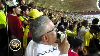 صالح القرني يالله على بابك احلي طرب وجمهور مباراة الاتحاد والفتح كاس الملك 2013