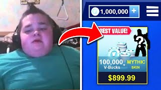 5 Kids WHO STOLE CREDIT CARDS FOR FORTNITE V BUCKS!
