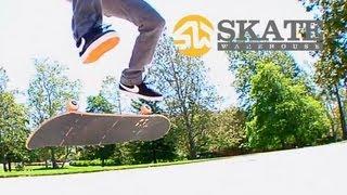 Skateboarding Trick Tips | Nollie Kickflip