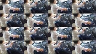 BMW Baby Girl Assembles Her Own X6