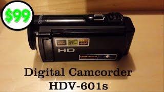 $99 HD 1080p Digital Camcorder HDV-601s (Action Camera)