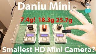 DANIU Mini - World's Smallest HD camera - Does It Suck?