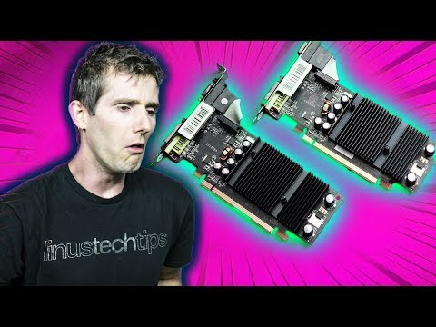 The Crappiest SLI Setup of ALL TIME