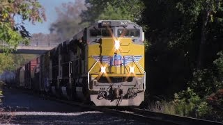 HD: October Railfanning: Dimensional, Animal Near Miss, Foreign Power, Horn Salutes, 90MACs and More