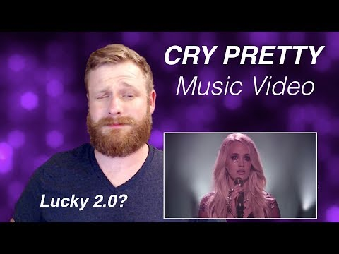 Carrie Underwood - Cry Pretty (Music Video) | REACTION
