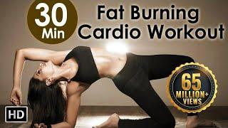 30 Min Fat Burning Cardio Workout - Bipasha Basu Unleash 'Full Routine' - Full Body Workout