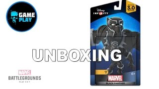 Disney Infinity 3 0 Marvel Battle Grounds Black Panther Unboxing
