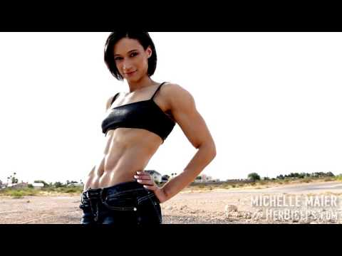 Vegas Girl with Super Deep Six Pack Abs