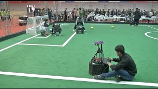 China Regional Competition of 2017 RoboCup Opens in Shandong
