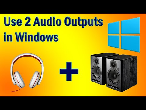 Xxx Mp4 Use 2 Audio Outputs At The Same Time On Windows FREE 3gp Sex
