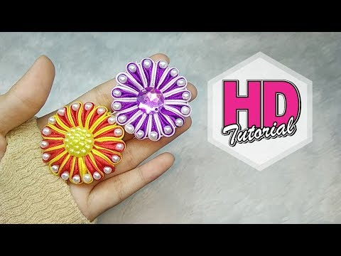 Xxx Mp4 DIY Tutorial Mini Two Colours Bunga Variasi Lipat Ubur Ubur Satin Ribbon Flower 3gp Sex
