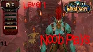 Noob Plays Original World Of Warcraft From The Begining(WOW Gameplay)