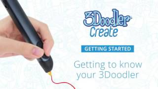 3Doodler Create - Getting Started: Getting to Know Your 3Doodler