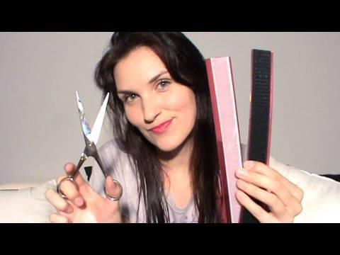 Corte de Cabello RECTO How to cut your own hair STRAIGHT Cortes de Cabello