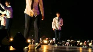 BTS THE RED BULLET IN BKK คุณและคุณเท่านั้น cover thai song 150808