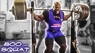 Ronnie Coleman- 800 lb Squat THE OFFICIAL FOOTAGE