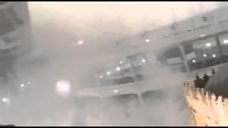 فيديو جديد لسقوط الرافعة