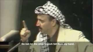 Yasser Arafat's Speech at the UN General Assembly   Olive Branch Speech