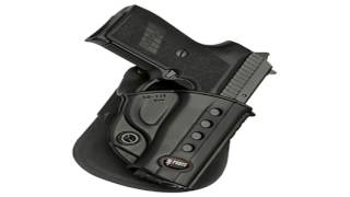 Fobus Roto Evolution Series Paddle Holster 1911 style with rails Kimber TLE