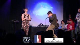 Kaila vs Rascal / Top 16 - American Beatbox Championships 2015