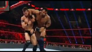 Hard body Mahal hits a hard forearm on Finn Balor