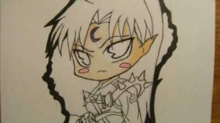 How to Draw Chibi Sesshomaru