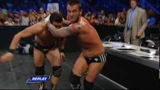 CM Punk Vs Alberto Del Rio WWE Friday Night Smackdown 2013 07 05