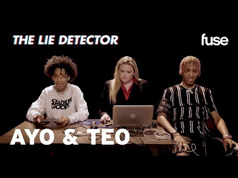 Ayo & Teo Take A Lie Detector Test